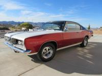 This Super clean 1967 Barracuda is in great condition