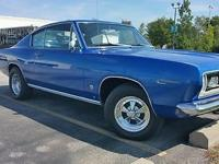 This is an extremely clean 1967 Plymouth Barracuda