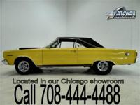 This is a 1967 Plymouth Belvedere II that is built for