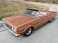 This 1967 Plymouth GTX Convertible has a Correct 426