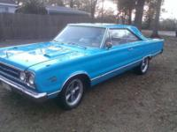 1967 Plymouth Satellite for sale (FL) - $16,000 Very