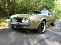 1967 REAL FIREBIRD 400  -FRAME-OFF RESTORATION.