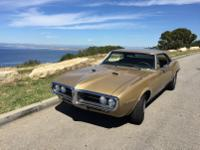 1967 Pontiac Firebird 400, All Original, Gold on Gold,