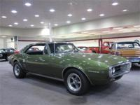 This 1967 Firebird has a Verdoro green metallic