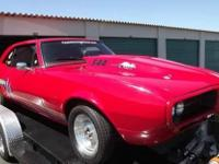 1967 Pontiac Firebird Race Car. This is one Bad Pro