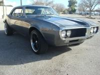 Vehicle Info: 1967 Pontiac Firebird. Exterior Color: