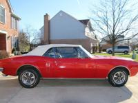 1967 Pontiac Firebird Convertible with a 326 cubic inch