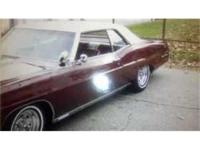 This is a 1967 built Pontiac Grand Prix available in an