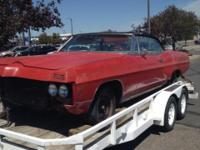 This is a 1967 Pontiac Grand Prix with only 50,000