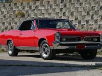 1967 Pontiac GTO Tribute with New paint on a straight