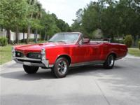This 1967 GTO underwent a total recent restoration and