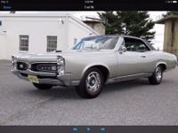 1967 Pontiac GTO (IN) - $65,900 Exterior: Silver w/