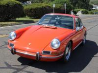 1967 Porsche 911 Orange This car is in pristine,