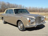 1967 Rolls-Royce Silver Shadow FHC.  -This is one of