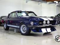 A fantastic Nightmist Blue 1967 Shelby GT 500 with