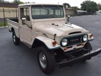 This rare 1967 Toyota FJ45 is one of the best examples