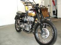 1967 Triumph T120TT , A Bill Hoard restoration, Total