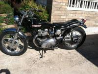 THIS IS A 1967 TRIUMPH T120R THAT WAS BOUGHT NEW OFF