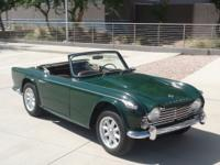 1967 Triumph TR4A   Here is an absolutely beautiful
