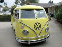 1967 Volkswagen Bus/Vanagon Type 2  The reason is a