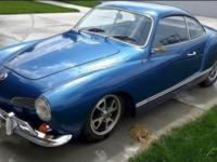 Ive always loved Karmann Ghias and always had the goal