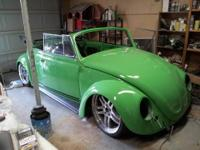 Fully custom 67 vw convertible cut and stretched 6