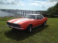 Hello You are looking at a 1967 Camero SS. This car is