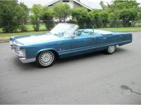 1967 Chrysler Imperial Convertible, nice new blue