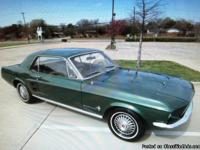 Make:  Ford Model:  Mustang Year:  1967 Body Style: