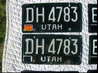 I have several pairs of 1968-1972 white on black Utah