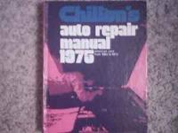 FOR SALE : 1968-75 CHILTON REPAIR BOOK IN EXCELLENT