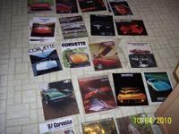 1968 - 1982 Corvette Sales Brochures $50.00ea. 1968 -