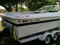 1968 23' Slick Craft for sale by owner. 350 I/O, 3