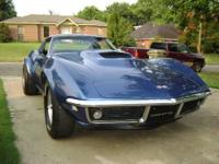 1968 Corvette with T-Tops - original numbers matching -