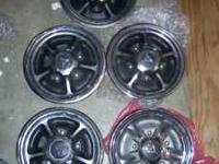 These are the very rare simmulated mag hubcaps that
