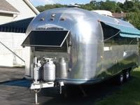 This Auction is for a 1968 Airstream LAND YACHT RV. Has