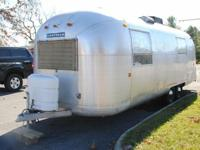 This initial 1968 Airstream 26 foot Camper was bought