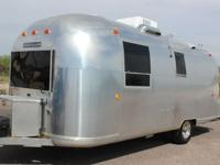 This Airstream Travel Trailer has Plenty of Room and is