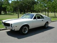 1968 AMC AMX for Sale, Rare Collectible Classic! Here's