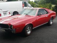 1968 AMC AMX ..401 Engine Completely Redone ..Super