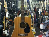 This is an awesome vintage 1968 Aria dreadnought