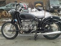 1968 BMW R60/2 Conversion Bike R75/5-Bike frame and
