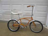 1968 Boys Schwinn Stingray Bicycle Complete, all