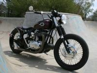 You are looking at my 1968 BSA custom-made bobber