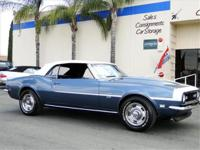 1968 CHEVROLET CAMARO SS CONVERTIBLE, MATCHING NUMBER