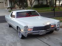 I am selling my 1968 Cadillac Deville coupe restored to