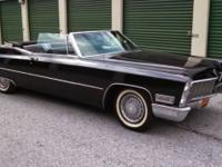 1968 Cadillac Deville Convertible ..94,000 Original