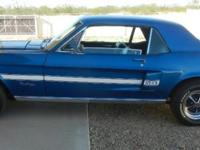 Here is a nice Mustang 68 California Special. It has