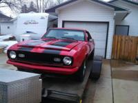 up for sale is my 1968 camaro initially off its not