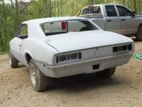1968 camaro project car for sale. Has clear title with